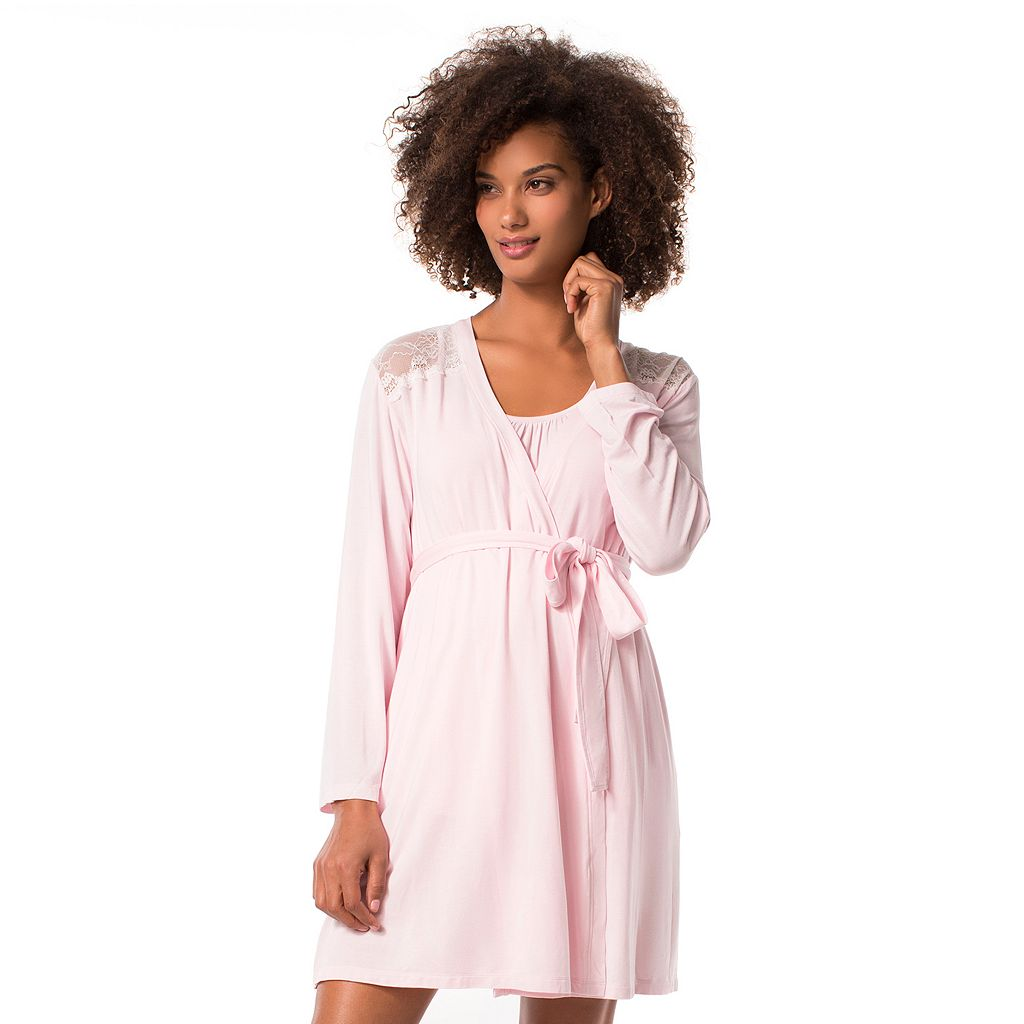 Maternity Pip & Vine by Rosie Pope Lace Robe