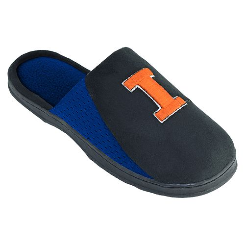 Men's Illinois Fighting Illini Scuff Slippers