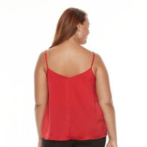 Plus Size Apt. 9® Mesh Camisole