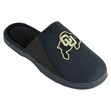 Men's Colorado Buffaloes Scuff Slippers