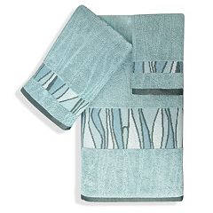 Popular Bath Shell Rummel 3 pc Tidelines Bath Towel Set