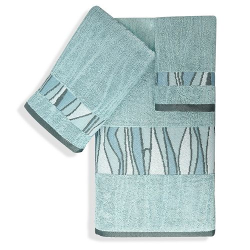Popular Bath Shell Rummel 3-piece Tidelines Bath Towel Set