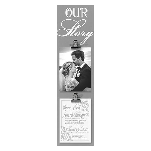 Malden Quot Our Story Quot 2 Opening Photo Clip Frame