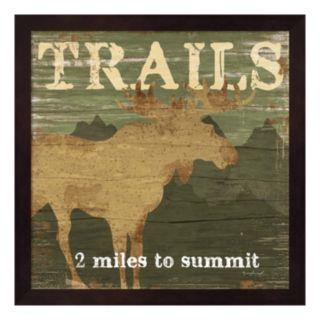 """Trails"" Framed Wall Art"
