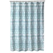 Popular Bath Shell Rummel Sea Glass Shower Curtain