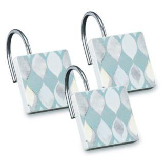 Popular Bath Shell Rummel 12-pack Sea Glass Shower Curtain Hook