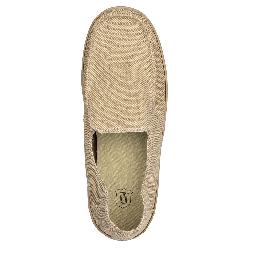 Men's Wembley Canvas Slip-On Casual Shoes