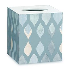 Popular Bath Shell Rummel Sea Glass Tissue Box
