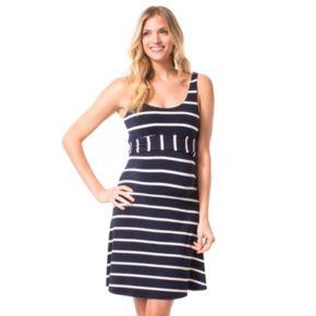 Maternity Pip & Vine by Rosie Pope Scoopneck Tank Dress