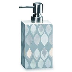 Popular Bath Shell Rummel Sea Glass Soap Dispenser