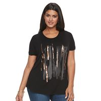 Plus Size Apt. 9® Adorn Graphic Tee
