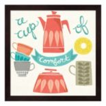 """A Cup Of Comfort"" Framed Wall Art"