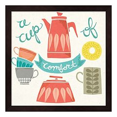 'A Cup Of Comfort' Framed Wall Art