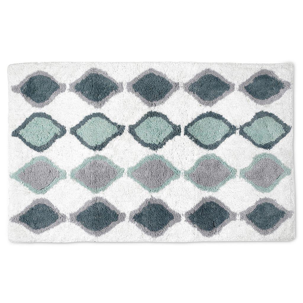 Popular Bath Shell Rummel Sea Glass Bath Rug