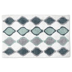 Popular Bath Shell Rummel Sea Glass Bath Rug