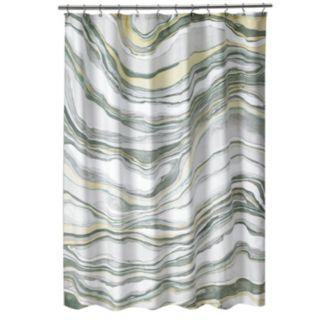 Popular Bath Shell Rummel Sand Stone Shower Curtain