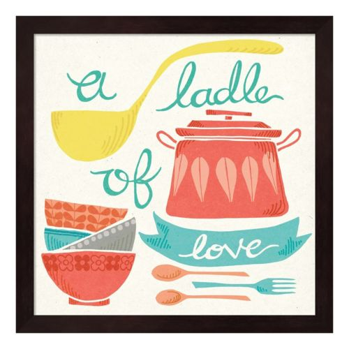 A Ladle Of Love Framed Wall ...