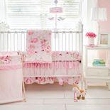 My Baby Sam Rosebud Lane 3-pc. Crib Bedding Set