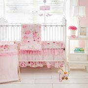 My Baby Sam Rosebud Lane 3 pc Crib Bedding Set
