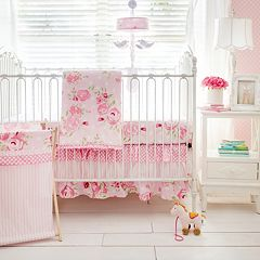 My Baby Sam Rosebud Lane 3-pc. Crib Bedding Set