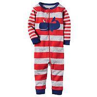 Baby Boy Carter's Striped One-Piece Pajamas