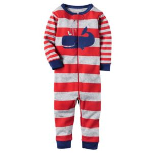 Baby Boy Carter's Striped One-Piece Pajamas