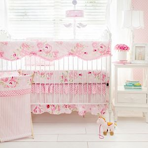 My Baby Sam Rosebud Lane Crib Rail Cover