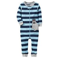 Toddler Boy Carter's Striped One-Piece Pajamas