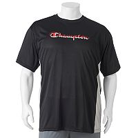 Big & Tall Champion Modern-Fit Colorblock Logo Tee