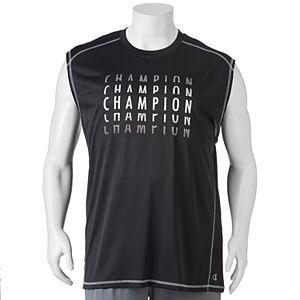 Big & Tall Champion Modern-Fit Logo Muscle Tee