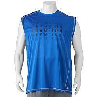 Big & Tall Champion Modern-Fit Logo Muscle Tee