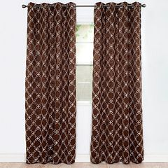 Portsmouth Home Myra Room Darkening Window Curtain Set