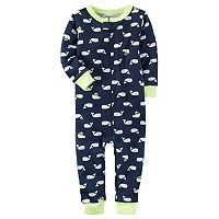 Toddler Boy Carter's Print One-Piece Pajamas