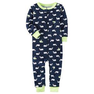 Toddler Boy Carter's Print One-Piece Pajamas