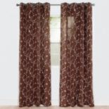 Portsmouth Home 2-pack Inas Embroidered Window Curtain