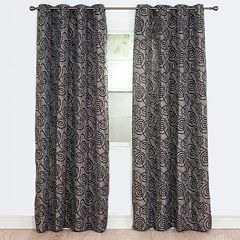 Portsmouth Home 2-pack Joy Jacquard Window Curtains