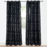 Portsmouth Home 2-pack Dinah Jacquard Window Curtain