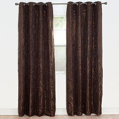 Portsmouth Home 2-pack Dinah Jacquard Window Curtains