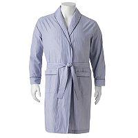 Big & Tall Residence Broadcloth Shawl-Collar Robe