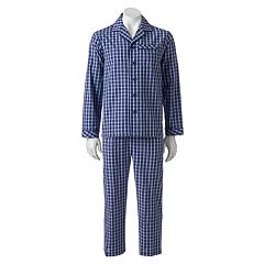 Big & Tall Residence Broadcloth Pajama Set