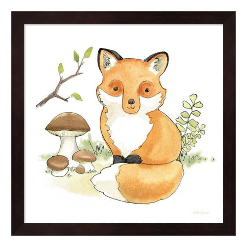 Baby Woodland I Framed Wall Art