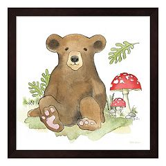 Baby Woodland II Framed Wall Art