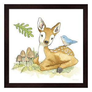 Baby Woodland III Framed Wall Art