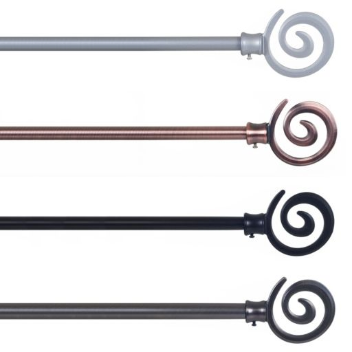 Portsmouth Home Spiral Curtain Rod