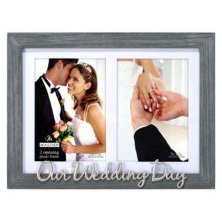 "Malden ""Wedding Day"" 2-Opening Collage Frame"