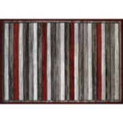 United Weavers Studio Painted Decks Striped Rug