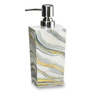 Popular Bath Shell Rummel Sand Stone Soap Dispenser