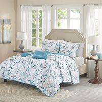 Madison Park Essentials 4-piece Lesley Quilted Coverlet Set