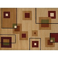United Weavers Studio Cinder Geometric Rug