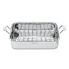 Cuisinart Chef's Classic Stainless Steel 16-in. Roasting Pan with Rack